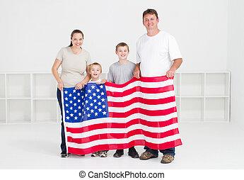αμερικανός , οικογένεια