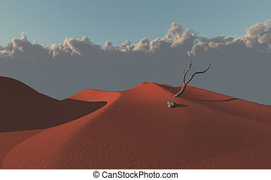 αμμόλοφοι , άμμοs , εγκαταλείπω , κόκκινο