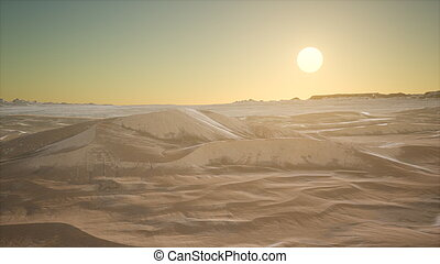 αμμόλοφοι , άμμοs , ηλιοβασίλεμα , εγκαταλείπω , κόκκινο
