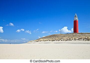 αμμόλοφοι , φάρος , παραλία