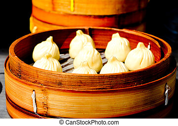 αμυδρός , κινέζα , dumplings , άθροισμα , σανγκάι , τροφή , κίνα
