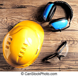 αμυντικός παίκτης , μεγάλα ματογυαλιά , ασφάλεια , αυτί , κράνος , μηχανικόs