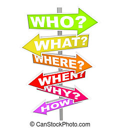 αμφιβολία , επάνω , βέλος , αναχωρώ , - , ποιός , τι , όπου...