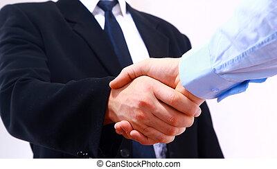 ανάμεσα , απομονωμένος , 2 άνθρωπος , κουνώ , άσπρο , χέρι