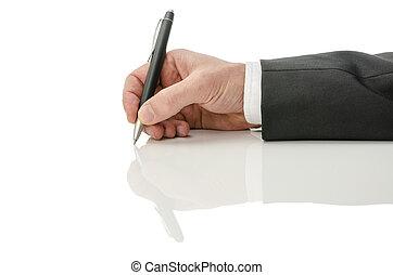 ανάμιξη αμπάρι , ένα , πένα
