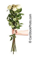 ανάμιξη αμπάρι , ανθοδέσμη από τριαντάφυλλο