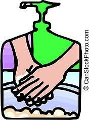 ανάμιξη , μικροβιοφορέας , πλύση