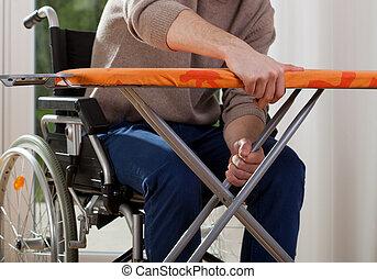 ανάπηρος , κάτω , αθετώ , πίνακας , σινέρωμα