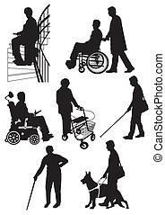 ανάπηρος , πρόσωπο