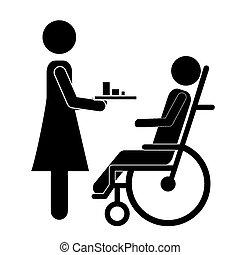 ανάπηρος , σχεδιάζω