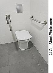 ανάπηρος , τουαλέτα