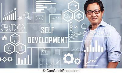 ανάπτυξη , γενική ιδέα , εαυτόs , motivational , αναφέρω , λόγια