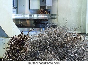 ανάχωμα , αποβάλλω ή απορρίπτω ως άχρηστο γυαλί σε κατάσταση τήξης , από , cnc, μηχανή