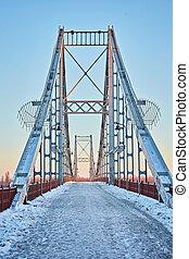 αναίδεια αντίκρυσμα του θηράματος , από , ένα , γέφυρα