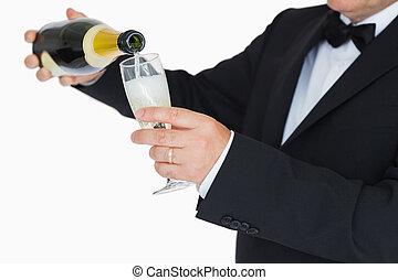 αναβλύζω καμπανίτης οίνος , άντραs , κουστούμι