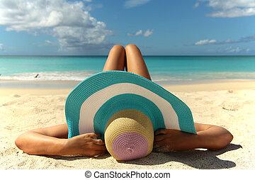ανακουφίζω από δυσκοιλιότητα , στην παραλία
