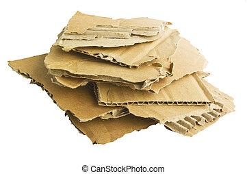 ανακυκλώνω , άσπρο , χαρτόνι