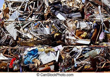 ανακυκλώνω , αποβάλλω ή απορρίπτω ως άχρηστο γυαλί σε ...