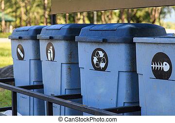 ανακυκλώνω , διαφορετικός , απτός , δοχείο , συλλογή