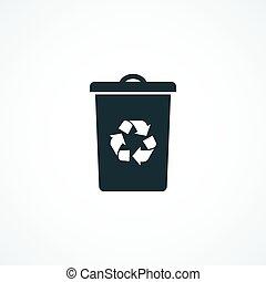 ανακυκλώνω δοχείο απεικόνιση