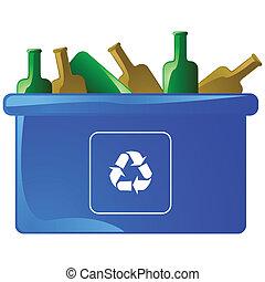 ανακυκλώνω δοχείο