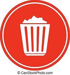 ανακυκλώνω δοχείο , γέμισα , εικόνα