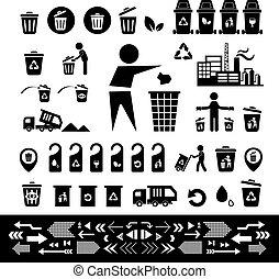 ανακυκλώνω δοχείο , εικόνα , θέτω