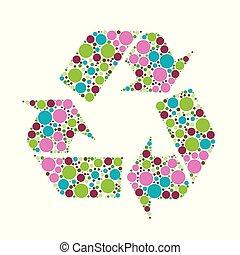 ανακυκλώνω , μικροβιοφορέας , σήμα