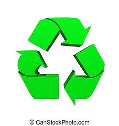 ανακυκλώνω , σύμβολο
