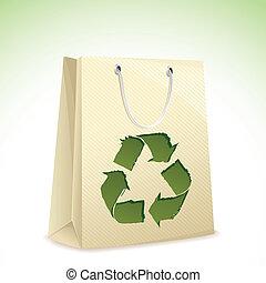 ανακυκλώνω , τσάντα