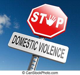 ανακόπτω βία , οικιακός