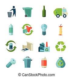 ανακύκλωση , απεικόνιση , θέτω