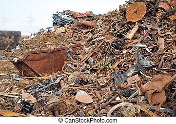 ανακύκλωση , από , γυαλί σε κατάσταση τήξης
