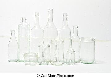ανακύκλωση , γυαλί , άσπρο