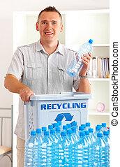 ανακύκλωση , δέμα , άντραs