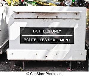 ανακύκλωση , μπουκάλι