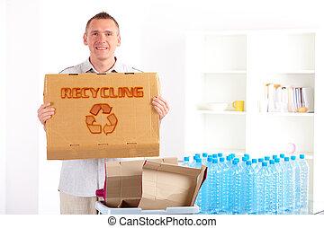 ανακύκλωση , πίνακας , άντραs