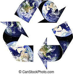 ανακύκλωση , πλανήτης γαία