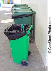 ανακύκλωση , πράσινο , δοχείο