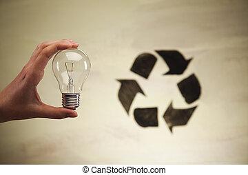 ανακύκλωση , φόντο , σήμα