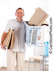 ανακύκλωση , χαρτί , άντραs