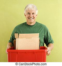 ανακύκλωση , bin., άντραs