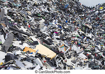 ανακύκλωση , industry., επιχείρηση , recycling., ανακατεύω , από , ανακύκλωση , απτός