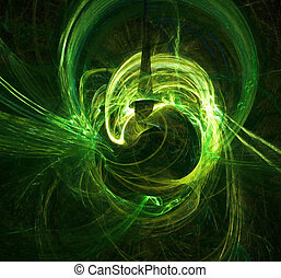 αναλαμπή , πράσινο