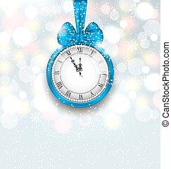 αναλαμπή , ρολόι , μεσάνυκτα , φόντο , έτος , καινούργιος