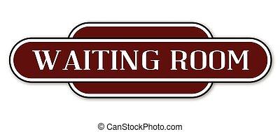 αναμονή , θέση , δωμάτιο , σήμα