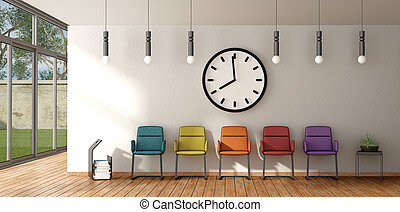 αναμονή , καρέκλα , δωμάτιο , γραφικός