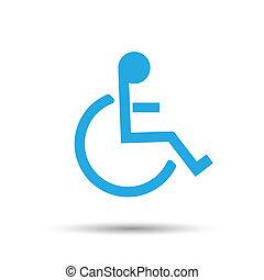 αναπηρική καρέκλα , εικόνα