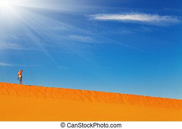 αναρρίχηση , άμμος αμμόλοφος