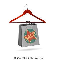 αναρτήρ , πώληση , ρούχα